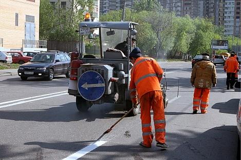 Обустройство дорог в городе